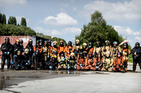 3D Firefighting training, group picture