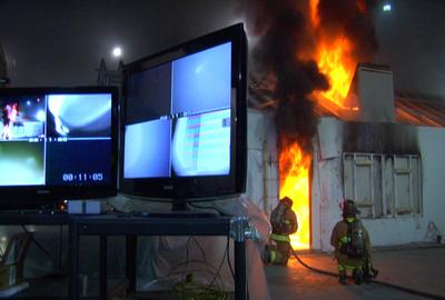Impact van verticale ventilatie op brandverloop.