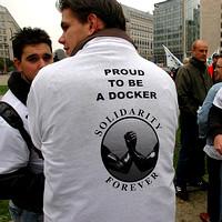 Dokwerkers solidair?
